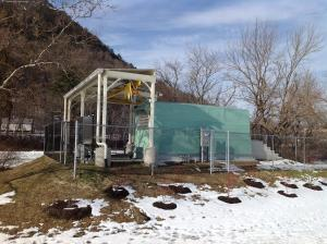 Photo of new pump Station